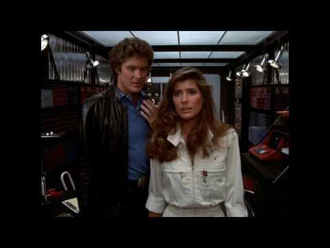 El auto fantastico (1982)  Michael Knight y Bonnie Barstow recopilacion
